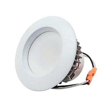 9-Watt (65W Equivalent) 4-inch Recessed LED Downlight Trim, 650 Lumens, Warm/ Soft (3000K) - Dimmable