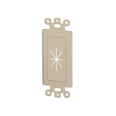 Decor Insert w/Flexible Opening, Lite Almond