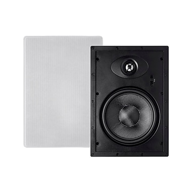 Alpha In Wall Speakers 8 Inch Carbon Fiber 2-way (pair)