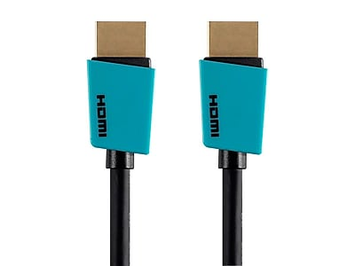 Palette Series High Speed HDMI® Cable, 1.5ft, Blue