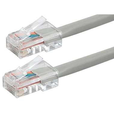 ZEROboot Series Cat5e 24AWG UTP Ethernet Network Patch Cable, 2ft Gray