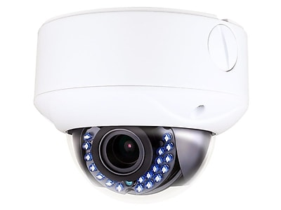 TVI Dome Camera, IP66 Rated Vandal Proof 2.8-12mm Vari-focal, 2MP, HD1080P, 1/2.7