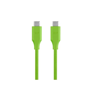 Palette Series 2.0 USB-C to USB-C, 6ft Green