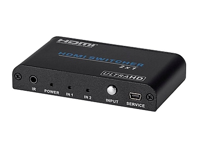 Blackbird 4K Pro 2x1 HDMI® Switch with HDCP 2.2 Support