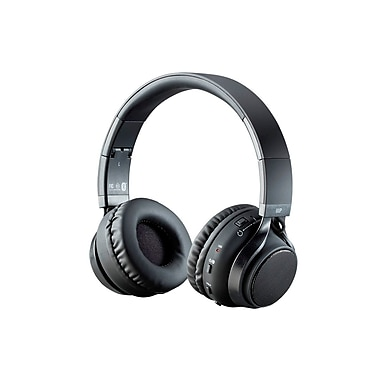2-in-1 Bluetooth® Headphones with External Speakers