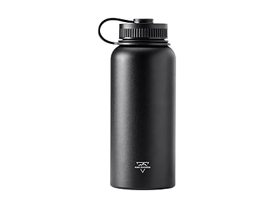 Pure Outdoor Vacuum Sealed 32 fl. oz. Wide-Mouth Water Bottle