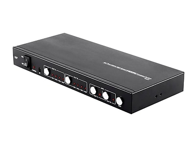 Blackbird 4K Pro 4x2 True Matrix High Speed HDMI® Powered Switch with Control Remote, Coaxial Audio Output and EDID