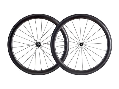 50mm Carbon Clincher Wheelset featuring Sapim CX-Ray Spokes