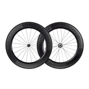 88mm Carbon Clincher Wheelset featuring Sapim CX-Ray Spokes