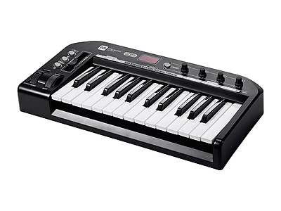 Stage Right 25-Key MIDI Keyboard Controller - Black