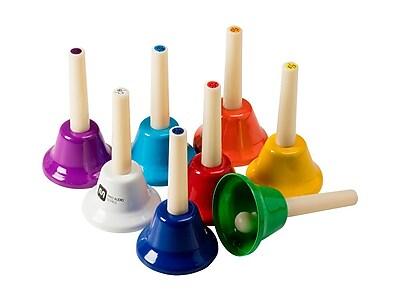 8-Note Handbell Set For Kids, Key of C