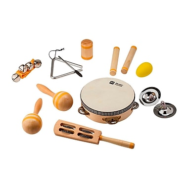 10-Instrument Percussion Set For Kids