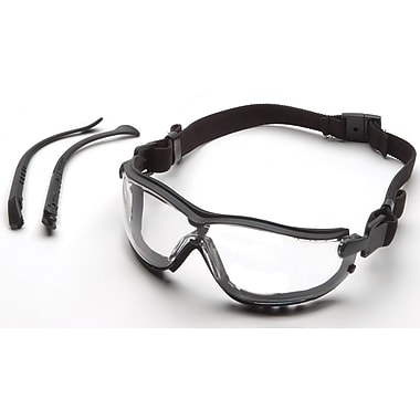 Pyramex V2G Safety Goggles with Clear H2MAX Anti-Fog, 6/Pack (GB1810STM)