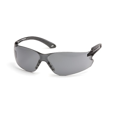 Pyramex Itek Safety Eyewear Glasses, Grey H2X Anti-Fog, 12/Pack