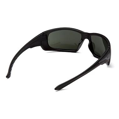 VentureGear Montello Forest Grey H2X Anti-Fog Safety Eyewear Glasses, Black Frame/Forest Grey Anti-Fog Lens, 6/Pack