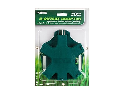 5-outlet Outdoor Adapter
