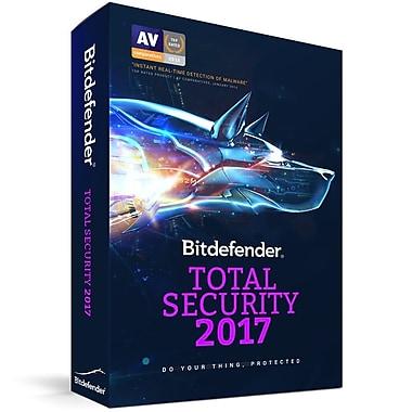 Bitdefender – Logiciel Total Security Multi-Device 2017, 5 utilisateurs, 2 ans [Téléchargement]