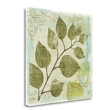 Tangletown Fine Art 'Woodland Thoughts III' Graphic Art Print on Canvas; 35'' H x 35'' W