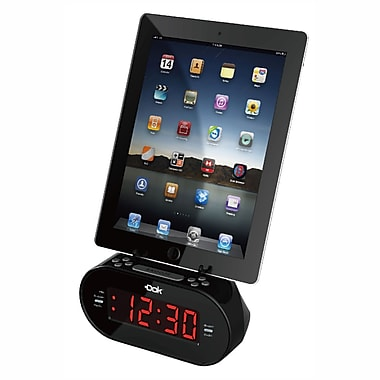 DOK Universal Charger With Alarm Clock (CR08)