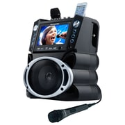 "Karaoke USA DVD/CDG/MP3G Karaoke Machine with 7"" TFT Color Screen and Record Function (GF839)"