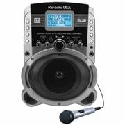 Karaoke USA Portable Karaoke MP3+G Player with Video Output (SD519)