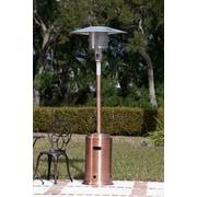 Good Fire Sense Propane Patio Heater; Copper