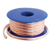 C2G® 250' Bare Wire Speaker Cable, Clear (40531)