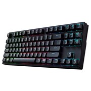 Cooler Master® Masterkeys Pro S Wired Mechanical Keyboard, Black/Red