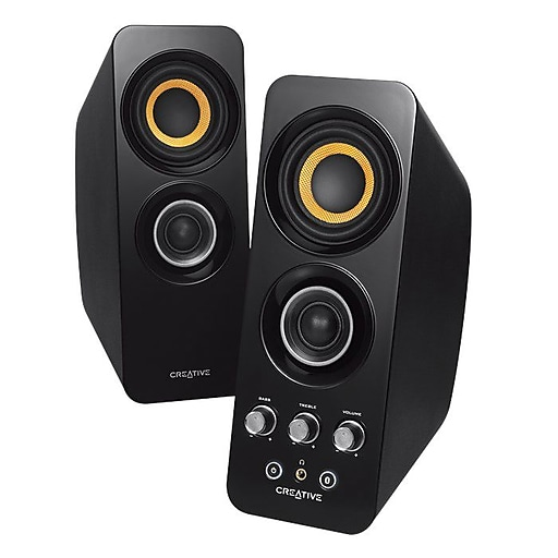 Creative T30 Bluetooth Wireless 2.0 Speaker System, Black