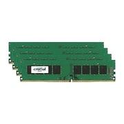 Crucial™ 64GB (4 x 16GB) DDR4 SDRAM UDIMM DDR4-2133/PC4-17000 Desktop/Laptop Memory Module (CT4K16G4DFD8213)