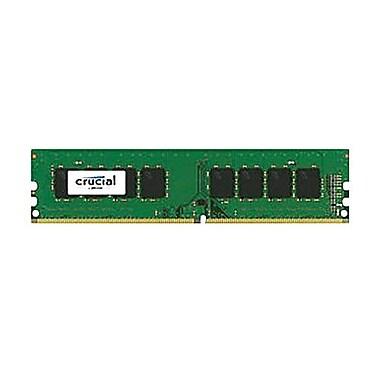 Crucial™ 8GB DDR4 SDRAM UDIMM DDR4-2400/PC4-19200 Desktop Memory Module (CT8G4DFD824A)