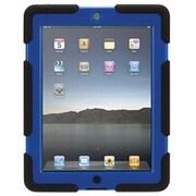 "Griffin Survivor All-Terrain GB353803 Polycarbonate/Silicone Case for 9.7"" iPad 2/3/4, Black/Blue"