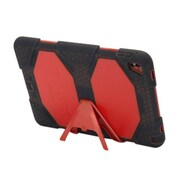 "Griffin Survivor All-Terrain GB42576 Polycarbonate/Silicone Protective Case for 9.7"" iPad Pro, Red/Smoke"