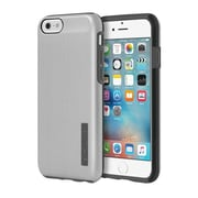 Incipio® DualPro SHINE Dual Layer Protective Case for iPhone 6/6s, Silver/Gray (IPH1180SLVRGRY)