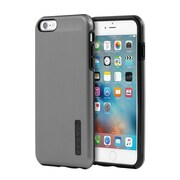 Incipio® DualPro SHINE Dual Layer Protective Case for iPhone 6 Plus/6s Plus, Gunmetal/Black (IPH1196GMTLBL)