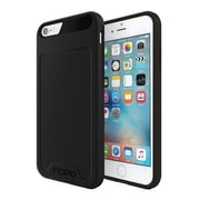 Incipio Performance Series Level 2 Dual Layered Case for iPhone 6/6s, Black (IPH1355BLK) by