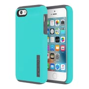 Incipio® DualPro Impact Absorbing Hard Shell Case for iPhone SE, Turquoise/Charcoal (IPH1435TRCH)