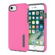 Incipio® DualPro The Original Dual Layer Protective Case for iPhone 7, Pink/Charcoal (IPH1465PKC)