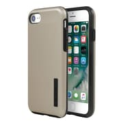 Incipio® DualPro SHINE Dual Layer Protective Case for iPhone 7, Gold/Black (IPH1466GDB)