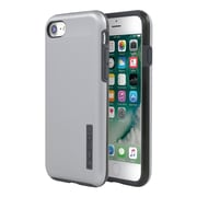 Incipio® DualPro SHINE Dual Layer Protective Case for iPhone 7, Space Gray/Charcoal (IPH1466sGC)