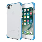 Incipio® Reprieve Protective Case with Reinforced Corners for iPhone 7, Clear/Cyan (IPH1470CCN)