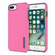Incipio® DualPro The Original Dual Layer Protective Case for iPhone 7 Plus, Pink/Charcoal (IPH1491PKC)