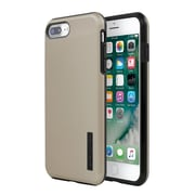 Incipio® DualPro SHINE Case for iPhone 7 Plus, Gold/Black (IPH1492GDB)