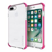 Incipio Reprieve Protective Case with Reinforced Corners for iPhone 7 Plus, Clear/Pink (IPH1496CPK) by
