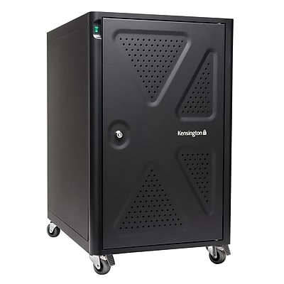 Kensington® K64415NA Black Security Charging Cabinet for Chromebooks/Tablets