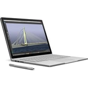 "Microsoft® Surface Book CR700001 13.5"" Multi-Touch Tablet, 512GB, Windows 10 Pro, Silver"