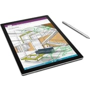 "Microsoft® Surface Pro 4 SU400001 12.3"" Multi-Touch Tablet, 1TB, Windows 10 Pro, Silver"