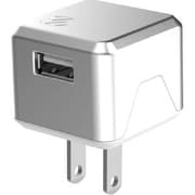 Scosche® SuperCube™ Flip 12 W USB Wall Charger for iPhone 5s, Silver (USBH121)