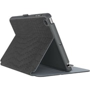 "speck® StyleFolio Luxury Edition 73958C243 Leather Case for 7.9"" iPad mini 4, Luxe Faux Snake Black/Nickel/Slate Gray"