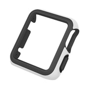 speck® CandyShell Fit Protective Case for Apple 42 mm Smart Watch, White/Black (AW42CSA4147)